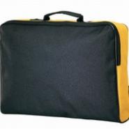 Сумка для документов, черная/желтая.  931014.