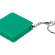 Брелок-рулетка, 1 м, зеленый